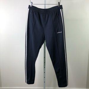 adidas Pants - ADIDAS ORIGINALS Navy Blue White Stripe Track Pant